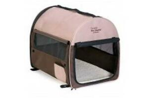 NEW Petmate Portable Pet Home Dark Taupe Coffee Grounds Brown Extra-Large Condtion: New Open Box
