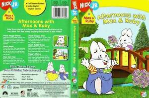 Max and Ruby and Caillou DVD's