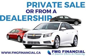 Buying a Vehicle Privately? We have your financing options!