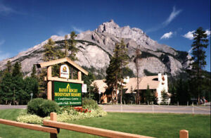 one week at Banff Rocky Mountain Resort this summer