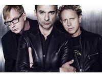 2 tickets for Depeche Mode