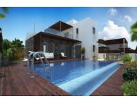 BUY PROPERTY IN CYPRUS, PAPHOS | PLAGE RESIDENCES – DETACHED VILLA WITH PRIVATE SWIMMING POOL