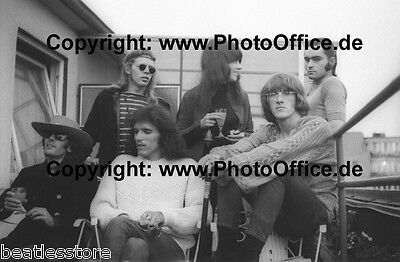 Jefferson Airplane in Hamburg 1968, seltenes 30x45cm Foto Poster