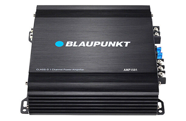 Blaupunkt AMP1501 Car Audio 1-Channel Mono Block Amplifier 1500W Max Power