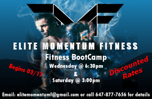 Fitness Boot Camp Group Training (Personal Training)