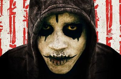 Anarchy movie mask The purge LED horror Killer Halloween Costume party Unisex