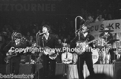 Beatles in München 1966 seltenes 30x45cm Konzert Foto Poster, Bravo Blitztournee