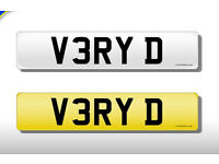 Personal number plate - V3 RYD