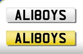 Private plate Aliboys
