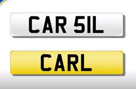CAR 51L private registration cherished number plate