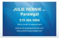 Paralegal Assistance in Brantford, Cayuga + Surrounding Areas