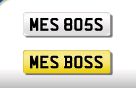 ME'S 805S private registration cherished number plate