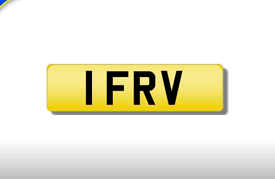 1 FRV cherished number plate personalised private registration