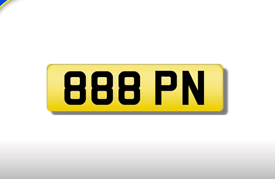 888 PN cherished number plate personalised private registration