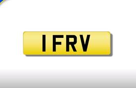 1 FRV private registration cherished number plate