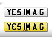 Yes I'm a G - private number plate plates QUICKSALE Bmw Audi Mercedes Toyota Honda Porsche