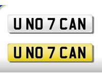 U Know I can - Private number plate plates registration quick sale