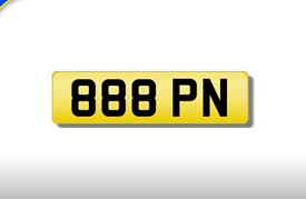 888 PN private registration cherished number plate