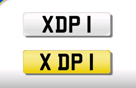 XDP 1 DP private registration cherished number plate