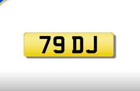 79 DJ private registration cherished number plate