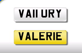 VA11 URY cherished number plate personalised private registration