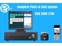 """complete point of sale solution, all in 15"""" touch screen"""
