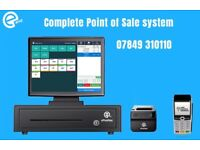 "Complete Point of Sale solution, all in 15"" touch system"
