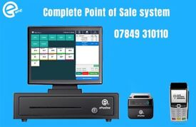 POS system for takeaways, restaurants and retail shops. Complete solution...