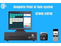 "Complete ePOS system, all in one, 15"" touch system"