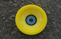 Easy People Longboards Speed Cruise wheel Set Solid Yellow,ABEC7