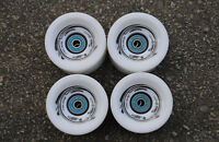 Easy People Longboards Speed Cruise wheel Set Solid White,ABEC-7