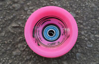 Easy People Longboards Speed Cruise wheel Set Solid Pink, ABEC-7
