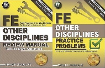 Fe Other Disciplines Review Manual And Practice Problems 2 Books Pass Exam Test