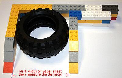 Brickbrowser.com LEGO Tyre Measurement