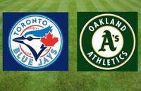 Toronto Blue Jays vs Oakland Athletics Saturday May 19th 2018