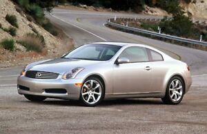 Infiniti g35 coupe part out