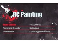 R.C Painting Experienced painter and decorator for over 10 years .....FREE QUOTES!!!!.........