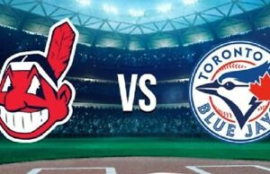 Blue Jays vs Indians - September 6 to 9 (2-4 tickets)