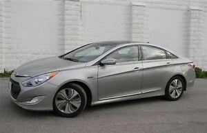 Hyundai Sonata Hybrid 2013 Limited Tech package Titanium color