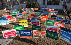 ELECTION SIGNS STARTING FROM $1.99 CALL US FOR MORE DETAILS !!!!