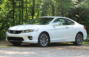 2013 Honda Accord EXL with Navi Coupe (2 door)