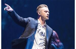 Justin Timberlake April 8 Red Sec 123 4 tickets
