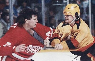 Bob Probert   Joey Kocur   Hockey Fights Dvd   1984 1989   The Bruise Brothers