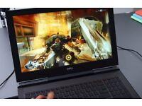 DELL GTX1050(4GB)i5 7300HQ,8GB,1TB, HSSD, IPS FULL HD,LAPTOP UNUSED