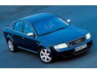 Audi A6 Auto 2.6 with optional LPG, as a runner
