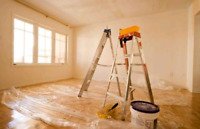 home renovations and any kind of paint job drywall installation