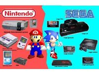 Wanted old games consoles and games