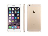 APPLE IPHONE 6 PLUS - WHITE & GOLD - EE