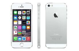 Iphone 5s silver 16gb good condition