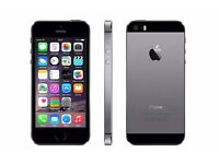 iPhone 5s 16G unlocked space grey with many extras such as charger case-BOXED